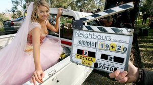 Margot as here character Donna Freedman in Neighbours.
