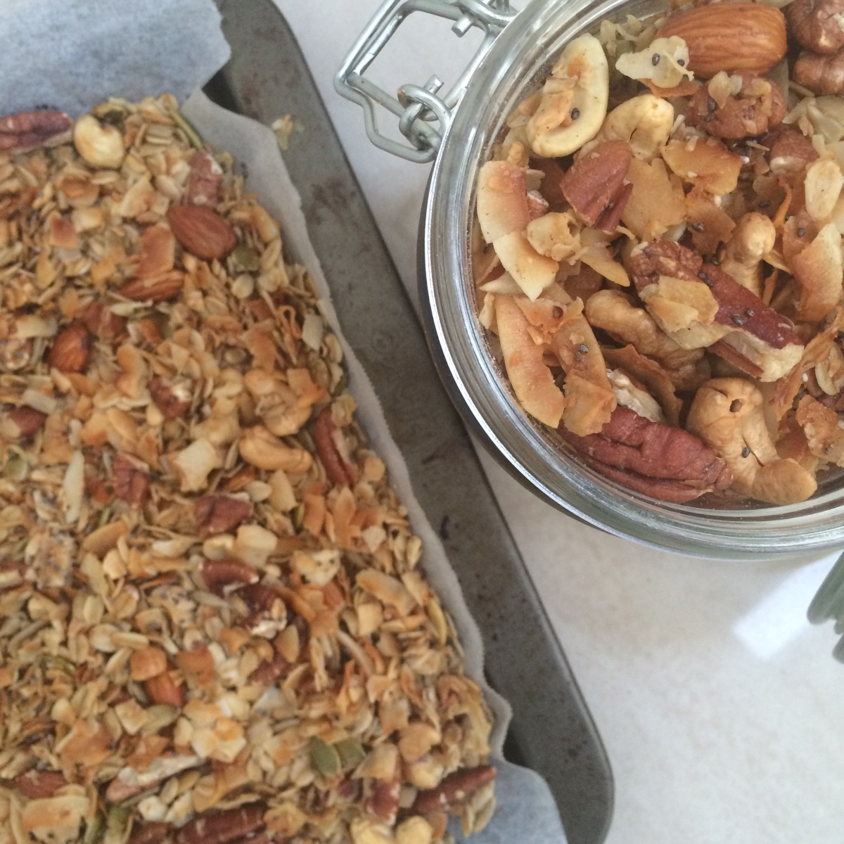 My Go-to Granola Recipe